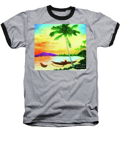 Mindanao Sunset Baseball T-Shirt