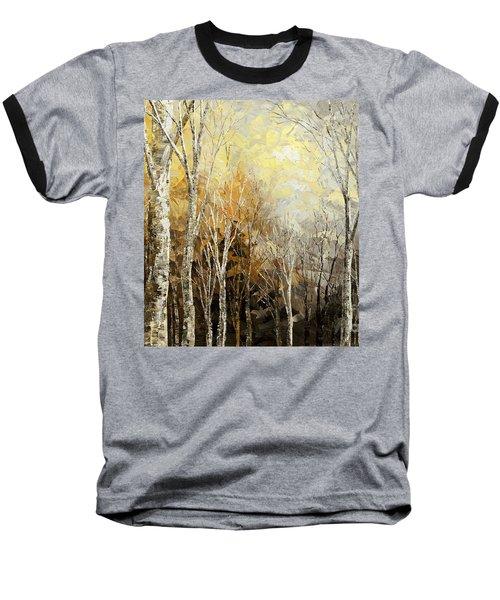 Mindful Melodies Baseball T-Shirt by Tatiana Iliina