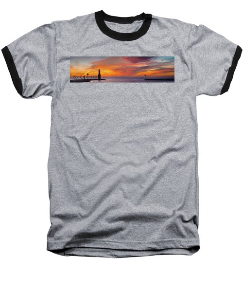Baseball T-Shirt featuring the photograph Mine Eyes Have Seen The Glory by Bill Pevlor