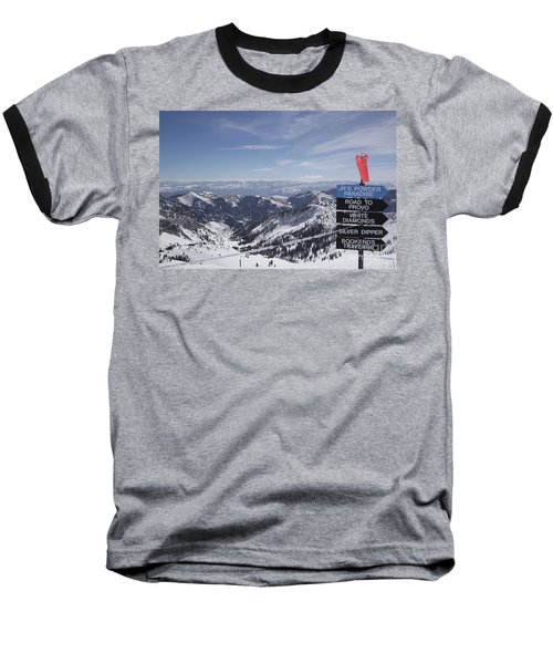 Mineral Basin Baseball T-Shirt