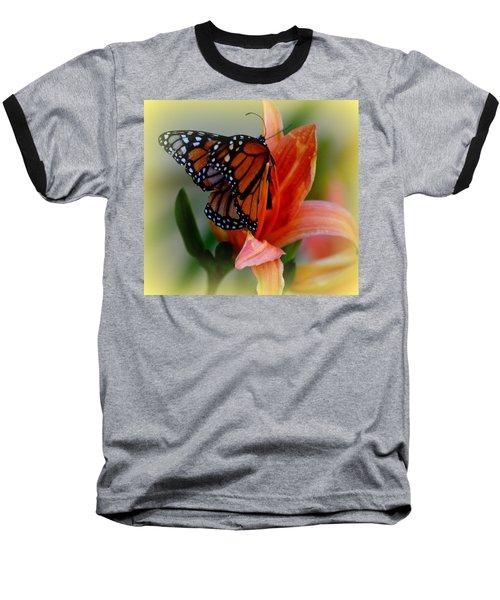Mingle With A Monarch Baseball T-Shirt