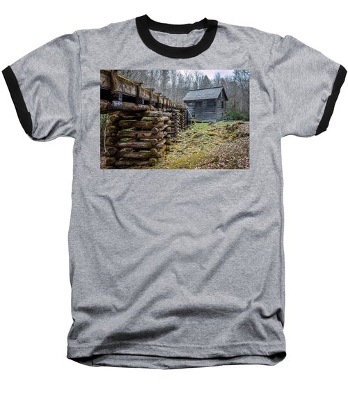 Mingus Millrace And Mill In Late Winter Baseball T-Shirt