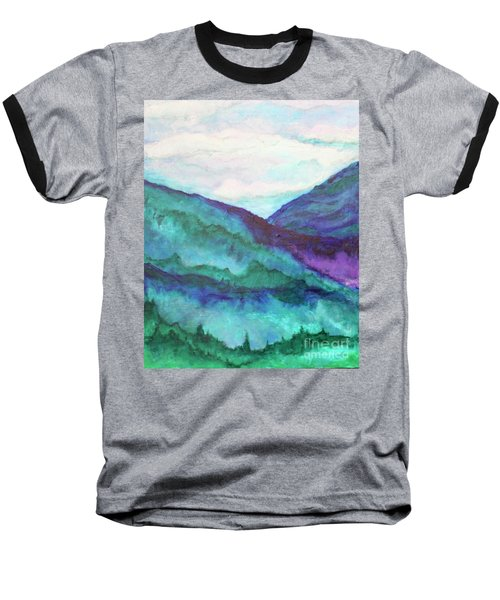 Mini Mountains Majesty Baseball T-Shirt