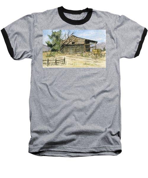 Mini No 1 Old Hay Shed Baseball T-Shirt