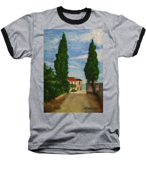 Mini Painting, Portugal Baseball T-Shirt by Marna Edwards Flavell