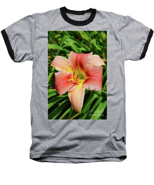 Mini Skirt Daylily Baseball T-Shirt