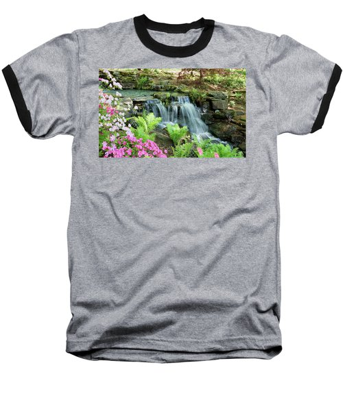 Mini Waterfall Baseball T-Shirt