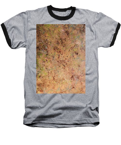 Baseball T-Shirt featuring the painting Minimal 7 by James W Johnson
