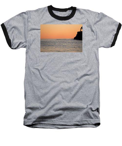 Minimalist Sunset Baseball T-Shirt