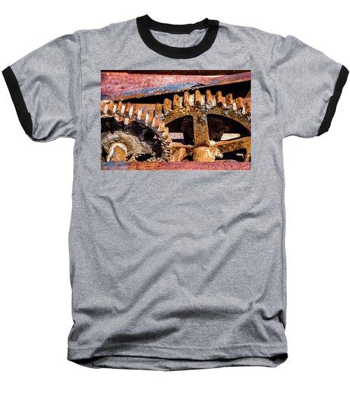 Mining Gears Baseball T-Shirt