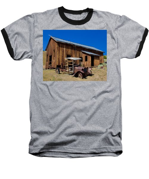 Baseball T-Shirt featuring the photograph Mining Relic by Todd Kreuter