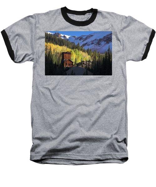 Baseball T-Shirt featuring the photograph Mining Ruins by Steve Stuller