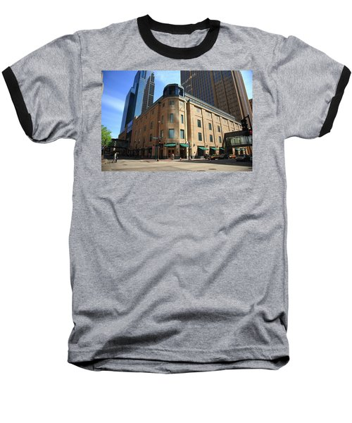 Baseball T-Shirt featuring the photograph Minneapolis Downtown by Frank Romeo
