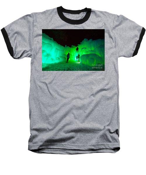 Ice Castles Of Minnesota Baseball T-Shirt