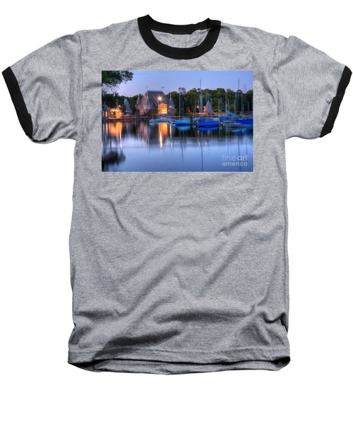 Minneapolis Skyline Photography Baseball T-Shirt