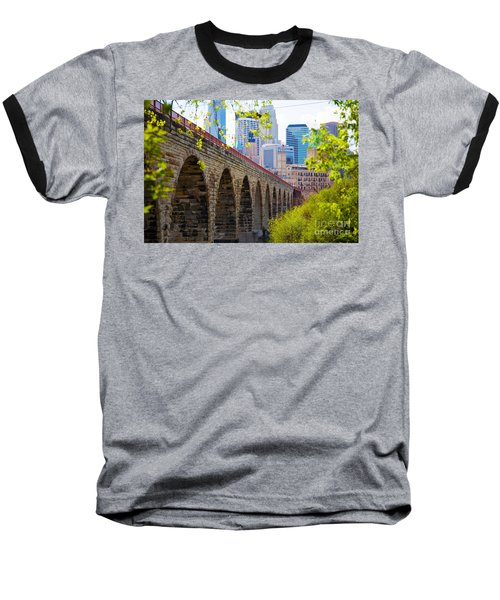 Minneapolis Stone Arch Bridge Photography Seminar Baseball T-Shirt