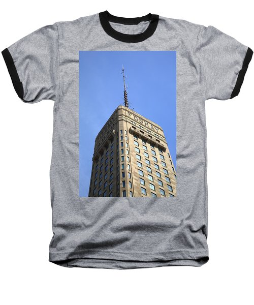Baseball T-Shirt featuring the photograph Minneapolis Tower 6 by Frank Romeo