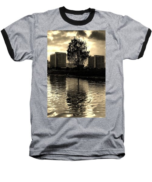 Baseball T-Shirt featuring the photograph Minsk Dramatic View by Vadim Levin