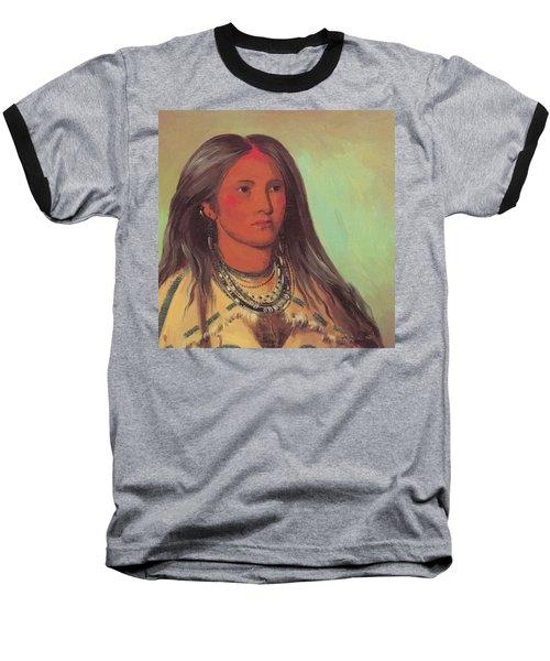 Mint A Mandan Girl 1832 Baseball T-Shirt