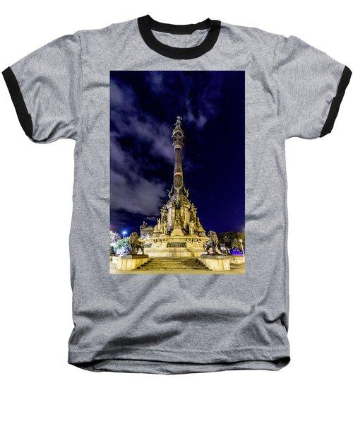 Mirador De Colom Baseball T-Shirt