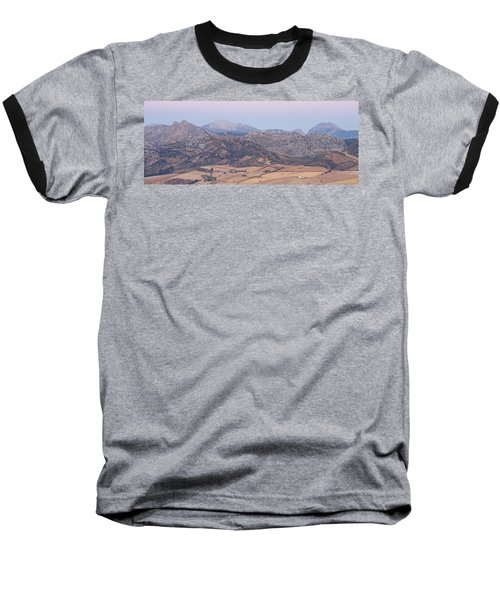 Mirador De Ronda At Dawn Baseball T-Shirt