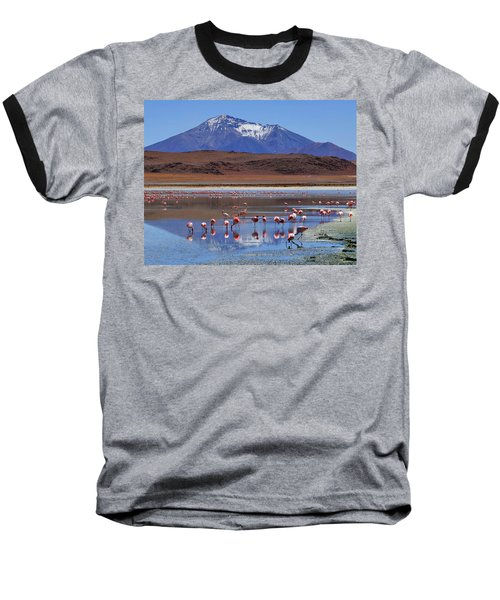 Baseball T-Shirt featuring the photograph Mirage by Skip Hunt