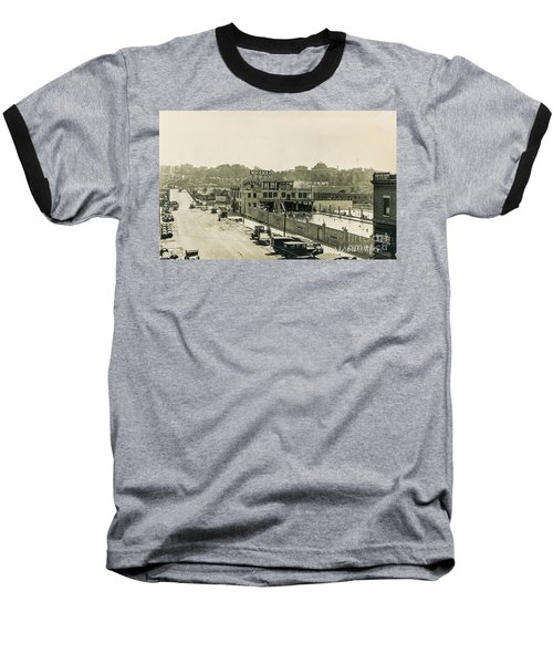 Baseball T-Shirt featuring the photograph Miramar Pool, 1927 by Cole Thompson
