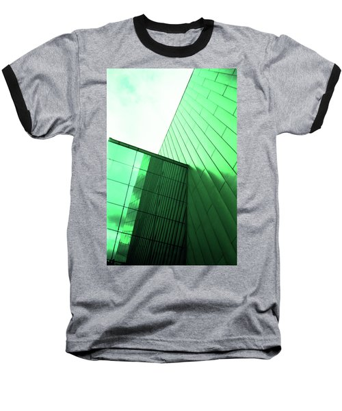 Mirror Building 2 Baseball T-Shirt