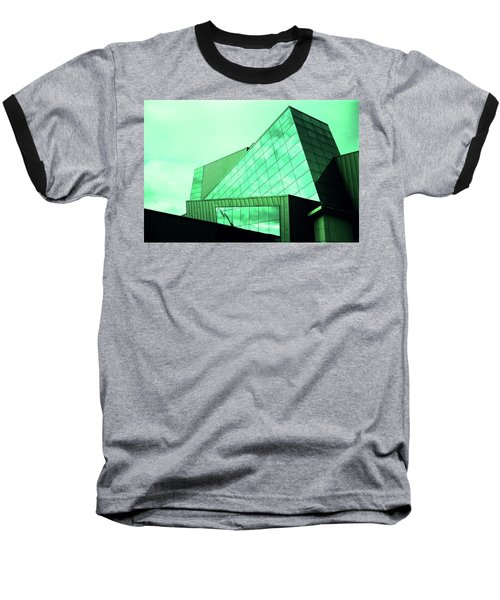 Mirror Building 3 Baseball T-Shirt