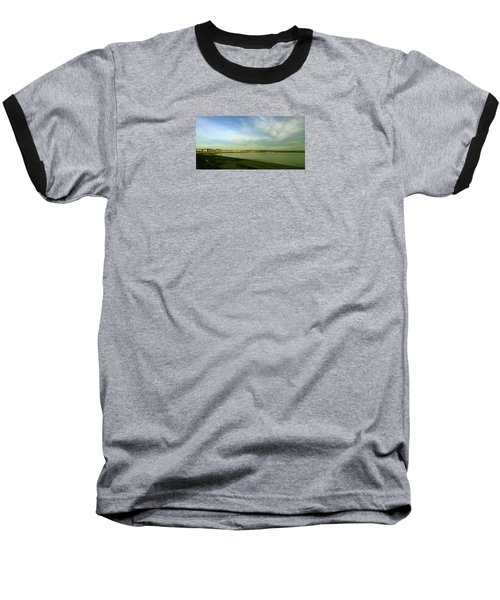 Mirror Calm Baseball T-Shirt by Anne Kotan