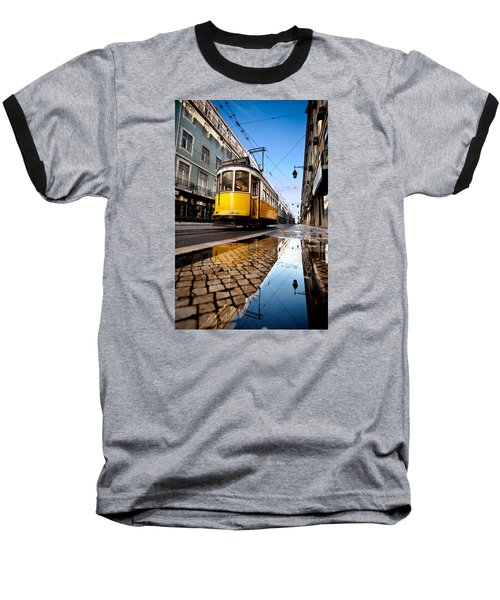 Mirror Baseball T-Shirt by Jorge Maia