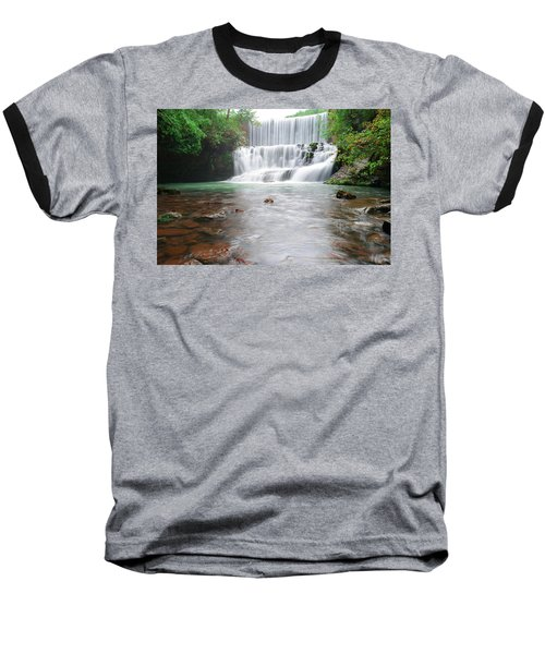 Baseball T-Shirt featuring the photograph Mirror Lake Falls 2 by Renee Hardison