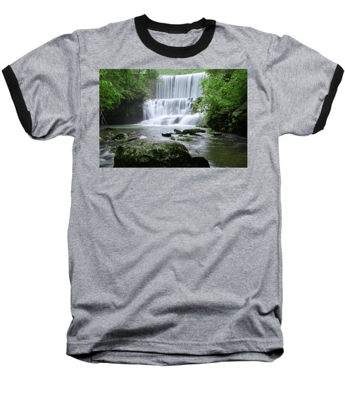 Baseball T-Shirt featuring the photograph Mirror Lake by Renee Hardison