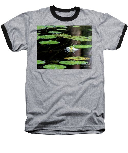 Mirror Lily Baseball T-Shirt