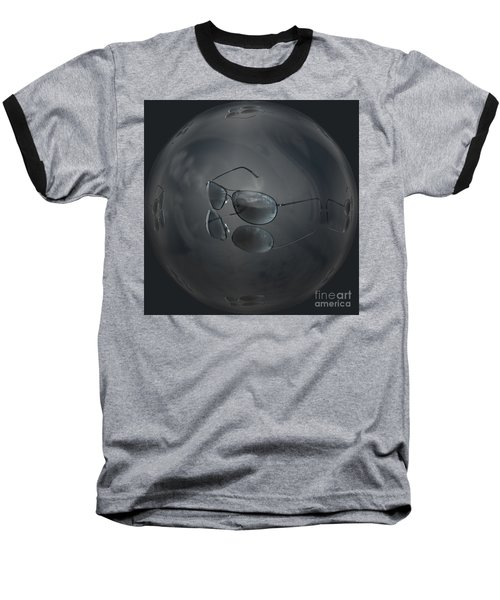 Baseball T-Shirt featuring the photograph Mirror Me by Shirley Mangini