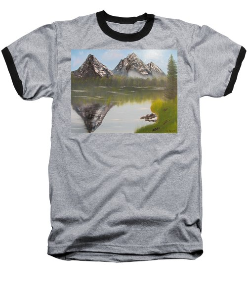Mirror Mountain Baseball T-Shirt