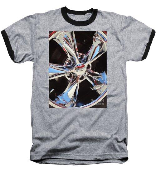 Mirror Wheel Baseball T-Shirt by Gem S Visionary