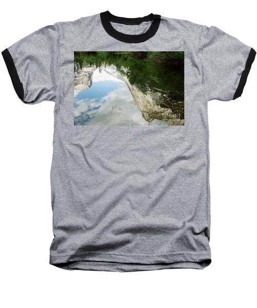 Mirrored Baseball T-Shirt by Kathy McClure