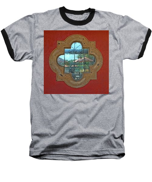 Mirrored Window Baseball T-Shirt