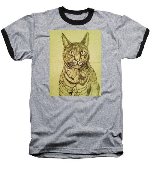 Misha The Pirate Baseball T-Shirt by Rand Swift