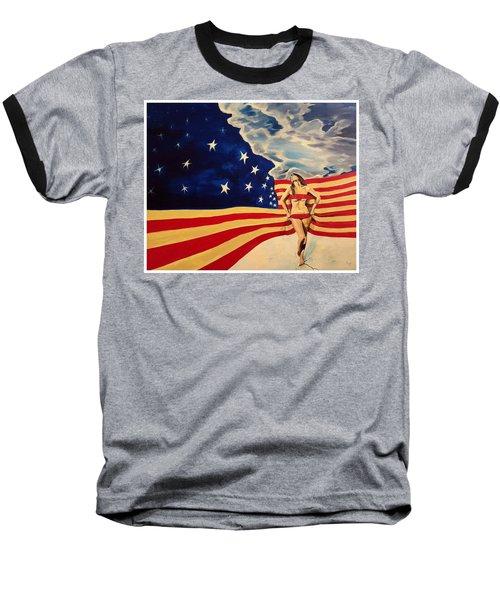 Miss America? Baseball T-Shirt