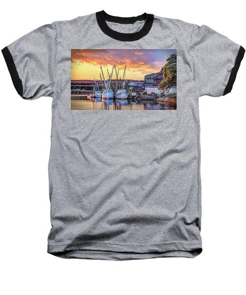 Miss Nichole's Shrimping Company Baseball T-Shirt