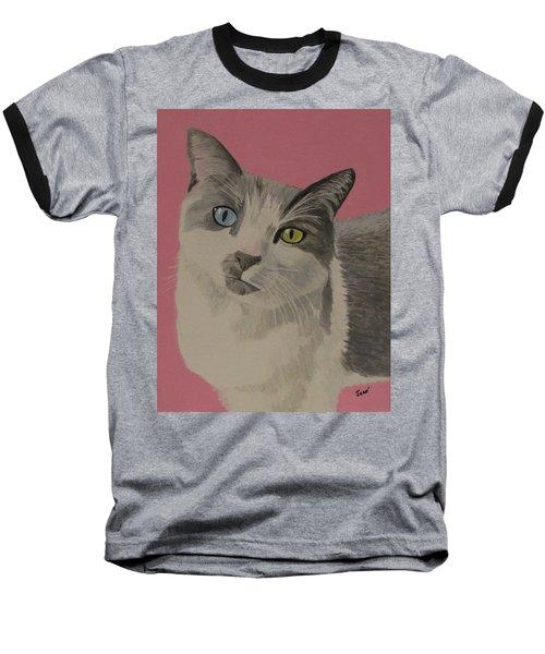 Miss Pretty Kittie Baseball T-Shirt