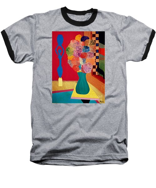 Baseball T-Shirt featuring the painting Missing Henri by Bill OConnor