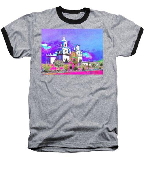 Mission Abstract 3 Baseball T-Shirt