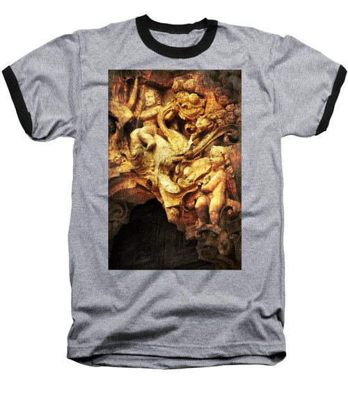 Mission Cherubs Baseball T-Shirt