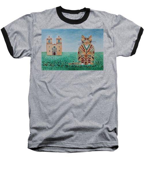 Mission Conception Cat Baseball T-Shirt