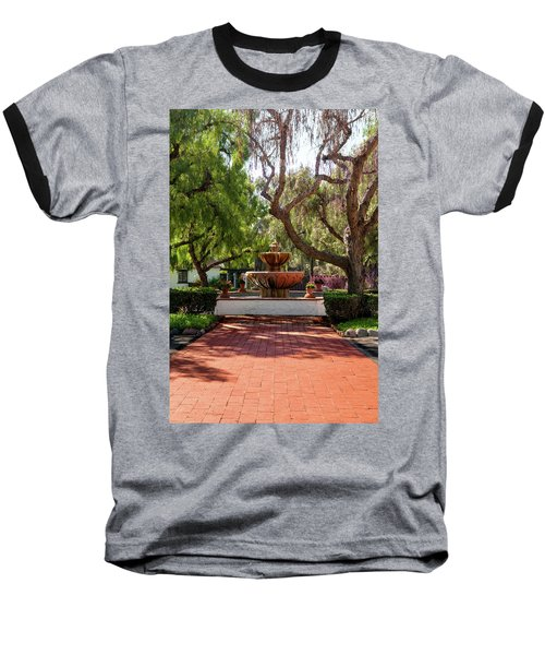 Mission Fountain Baseball T-Shirt