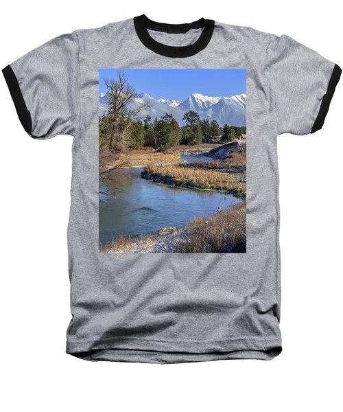 Mission Mountains Baseball T-Shirt