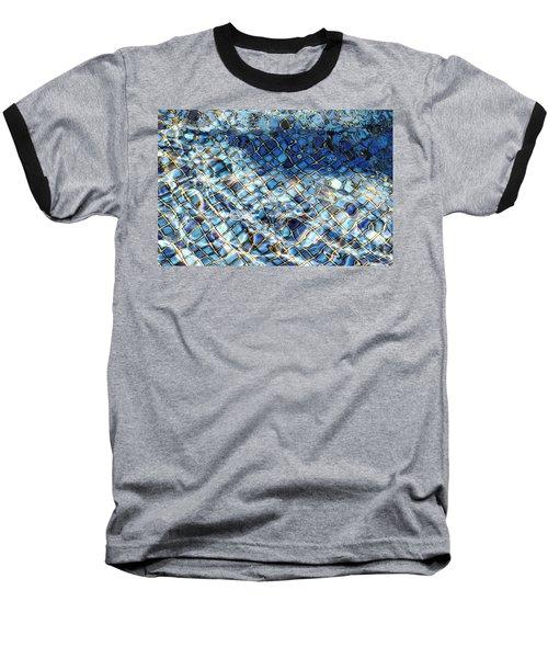 Mission San Buenaventura Mosaic Baseball T-Shirt